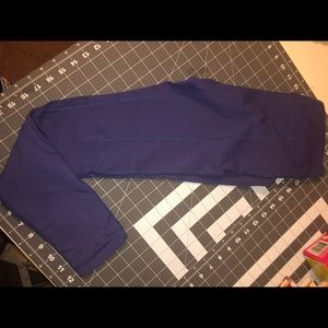 Tonic purple full length leggings sz small